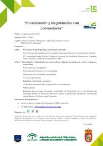 2. Financiacion Negociacion proveedores